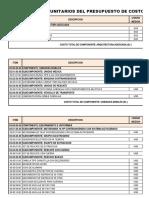 02_Costos Unitarios Del Presupuesto de CD