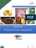 8. Boletin Comercio Exterior Agropecuario. Abril-17