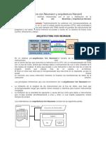 Arquitectura Von Neumann y Arquitectura Harvard