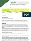 Documentación del sistema PRL Instituto Nacional Seguridad e Higiene