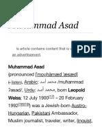 Muhammad Asad - Wikipedia