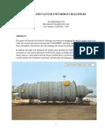 Crude and Vacuum Unit Design Challenges