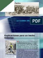 Cronologia de La Guerra Del Pacifico