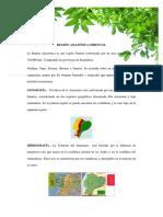 REGIÓN AMAZÓNICA ORIENTAL
