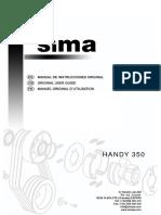 Manual Sima Handy 350