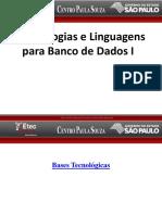 Aula I - Introduçao a BD- TLBD - I