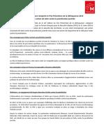 CP - La Ville de Mulhouse Remporte Le Prix Prévention de La Délinquance 2019