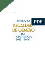 5 POLITICA DE IGUALDAD DE GENERO DEL PJ 2016-2020.pdf