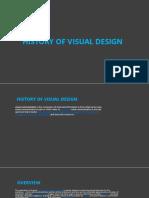 History of Visual Design