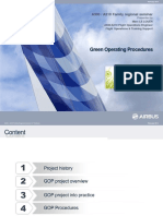 Airbus Green Operating Procedures
