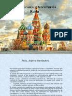 Comunicarea interculturală Rusia