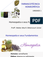 1 Homeopatia e Seus Fundamentos