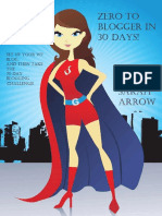 (Blogging book 1) Sarah Arrow-Zero to Blogger in 30 Days!_ Start a blog and then join the 30 day blogging challenge to get results-Sarkemedia.com (2014).pdf