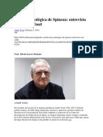 Tosel, André - La Ética Ontológica de Spinoza. Entrevista