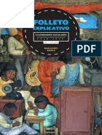 Folleto Explicativo Calendario Escolar 18 19