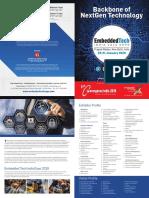 Embed Tech India 2018 Expo Brochure