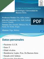 Caso clinico eritema polimorfo