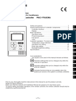 Mitsubishi Electric PAC-YT52CRA User Manual Eng