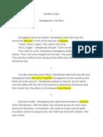 narrative input - sacagaweas life story