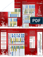 2018 Supertram Festive Timetable
