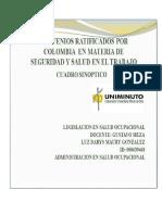 Cuadro Sinoptico Convenios Ratificados Por Colombia