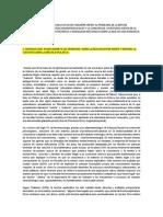 Sobre La Propuesta Ontologica de David Chalmers Frente a La Cuestión Acerca de La Brecha Explicativa Entre Las Propiedades y Procesos Neurofisiologicos y La Consciencia