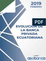 Evolución de La Banca Febrero 2019 - Asobanca