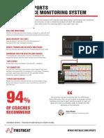 Firstbeat Sports System Data Sheet ENG 09 2018