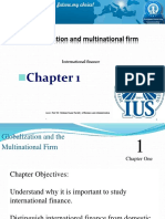 Chapter 1 Globalization and Multinational Firm