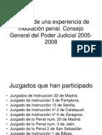 Análisis de una experiencia de mediación penal