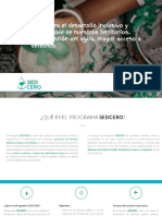 Brochure Programa SEDCERO