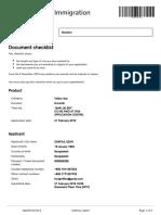 4. Document Check List Shafiul Azam