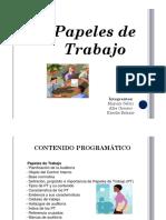 Papeles de Trabajo Control Fiscal Venezuela