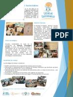 Poster Proyecto Escuelas Sustentables