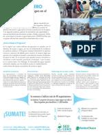Afiche Programa SEDCERO
