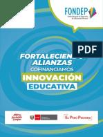 Díptico 2019 del FONDEP