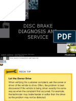 Disc Brake Diagnosis and Service