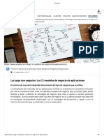 Los 12 Modelos de Negocio de Aplicaciones