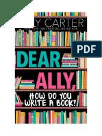 Dear Ally Excerpt