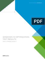 Vmware View Horizon 7 Windows 10 Optimize Virtual Desktop