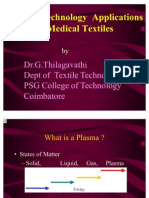 Plasma Technology for Medical Textile Applications