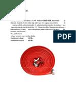 Ficha Tecnica Cover Red