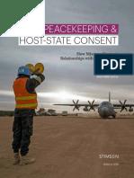U.N. Peacekeeping & Host State Consent
