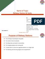 Railway Station & yards PresentationTopic.pptx