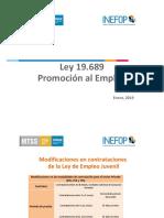 Datazen SRL Presentacion Ley 19689