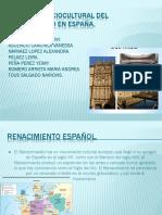 Contexto Sociocultural Del Renacimiento en España