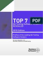 Top 7 Qa Testing