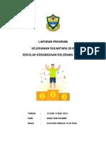 LAPORAN PROGRAM KEJOHANAN SUKANTARA 2019.docx