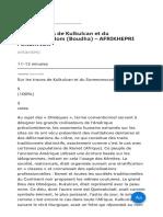 Sur Les Traces de Kulkulcan Et Du Sommonocodom (Boudha) – AFRIKHEPRI FONDATION