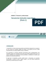 Secuencias Textuales Expositivas 4f